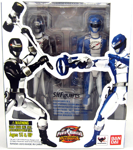 Black & Blue Overdrive Ranger 2-Figure Pack