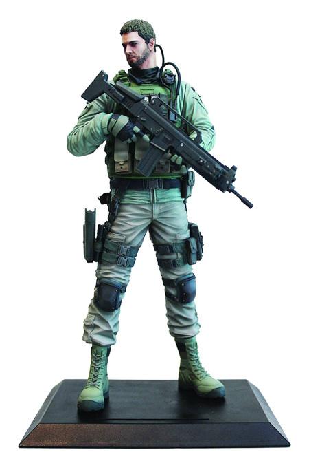 Chris Redfield Resident Evil 6 Figure