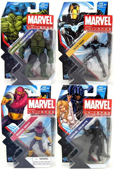Marvel Universe Figures Wave 3