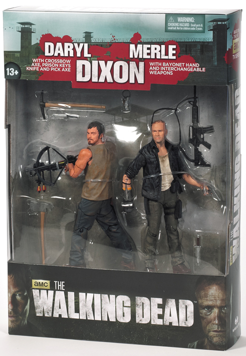Merle Dixon and Daryl Dixon 2-Pack