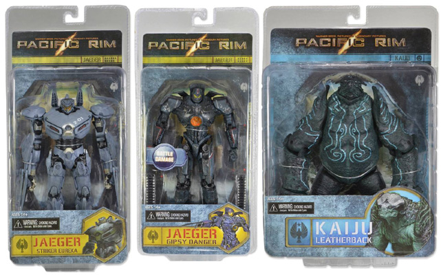 Pacific Rim Series 2 Figures