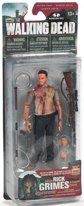 Rick Grimes Walking Dead Exclusive Figure