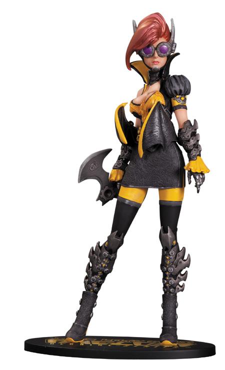 Steampunk Batgirl Statue