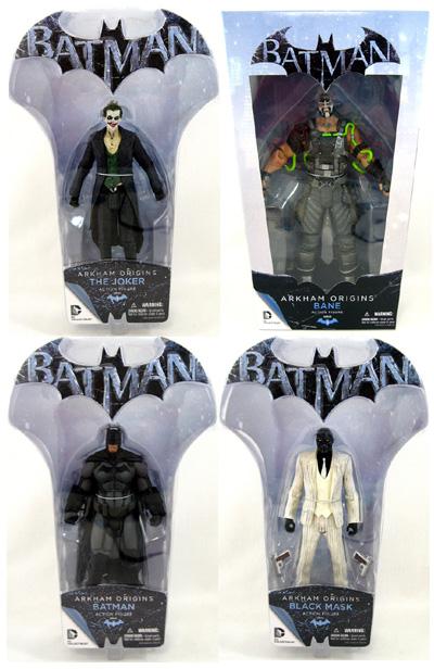 Batman Arkham Origins Figures