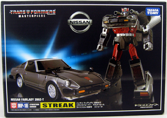 Bluestreak MP-18 Transformers Takara