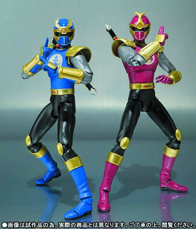 Crimson Thunder Ranger and Navy Thunder Ranger 2-pack