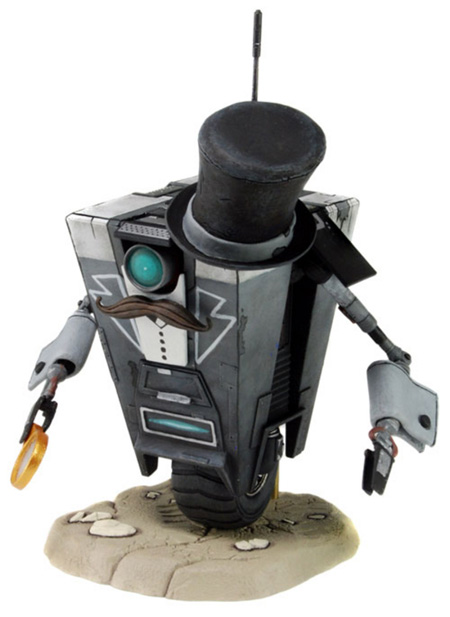 Gentleman Caller ClapTrap Borderlands Figure