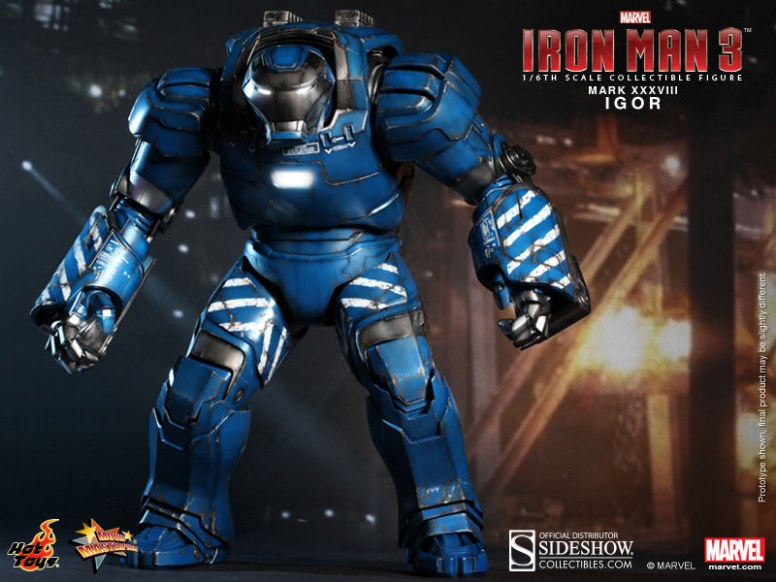 Iron Man Igor Mark XXXVIII 38 Hot Toys