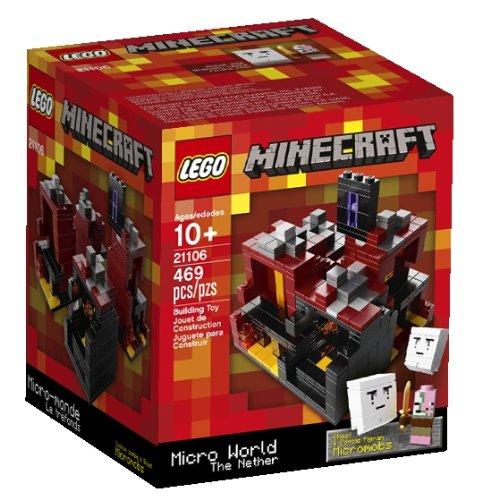 Minecraft The Nether 21106 Box