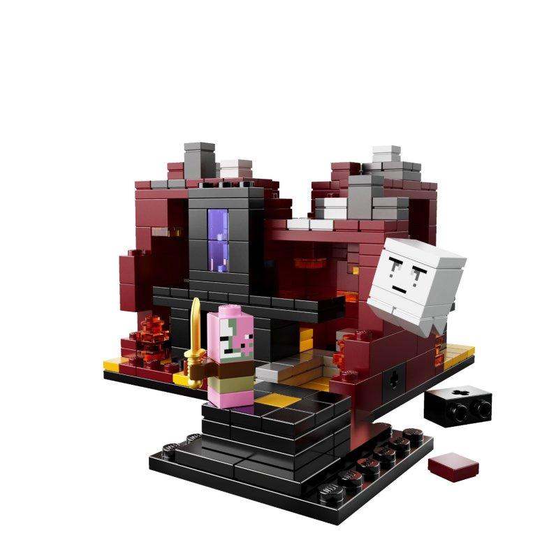Minecraft The Nether Lego 21106