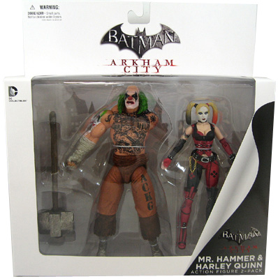 Mr Hammer - Harley Quinn 2-Figure Set