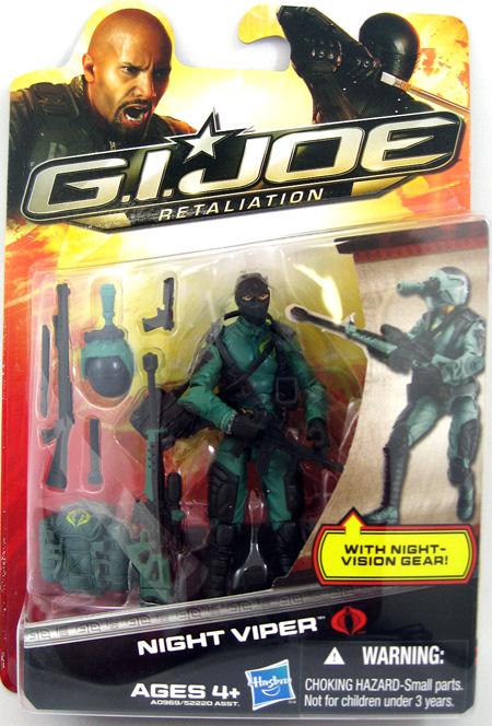 Night Viper G.I. Joe Retaliation Figure