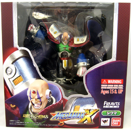 Sigma Mega Man X D-Arts Figure