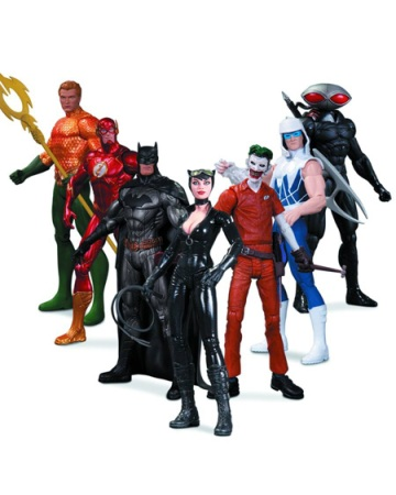Super Heroes vs Super Villains 7-Figure Set