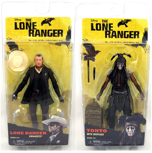 The Lone Ranger Series 2 Figures