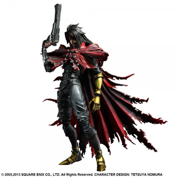 Vincent Valentine Play Arts Kai Figure