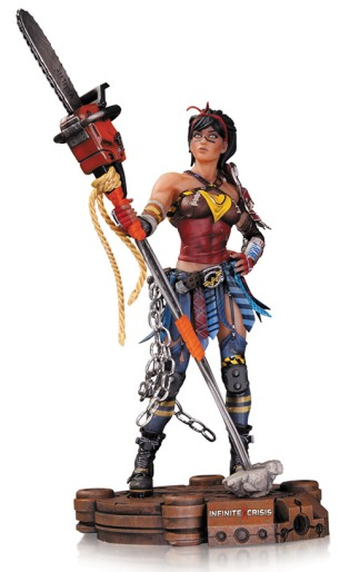 Atomic Wonder Woman Statue