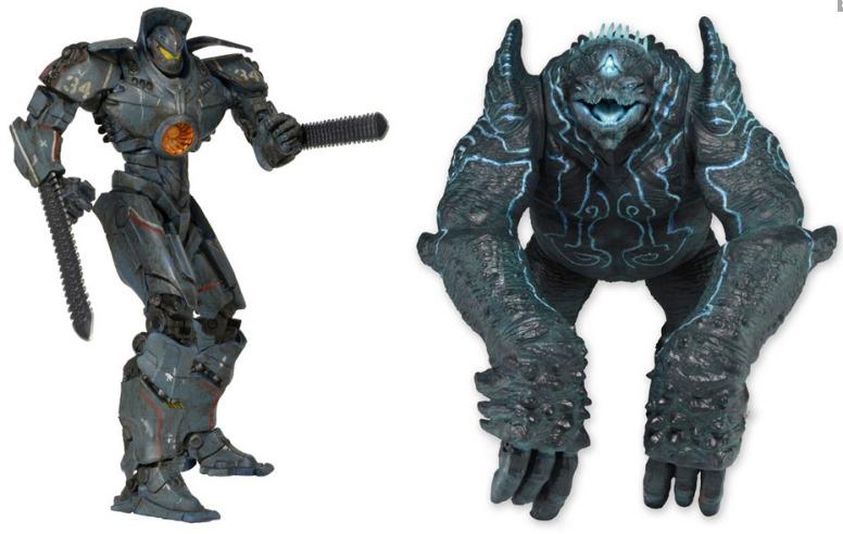 Battle-Damaged Gipsy Danger vs Leatherback  2-Figure Pack