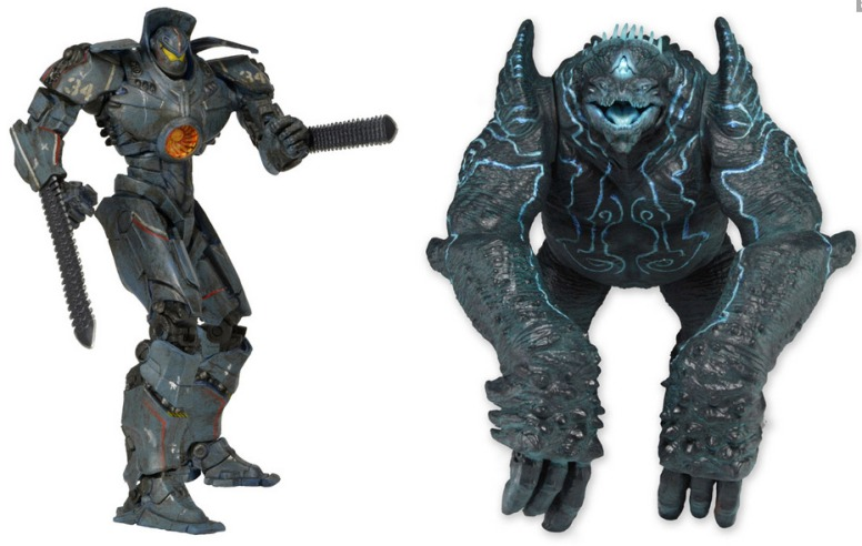 Battle-Damaged Gipsy Danger vs Leatherback  2-Figure Pack