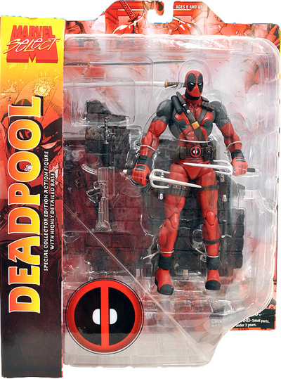 Deadpool Masked Marvel Select Figure