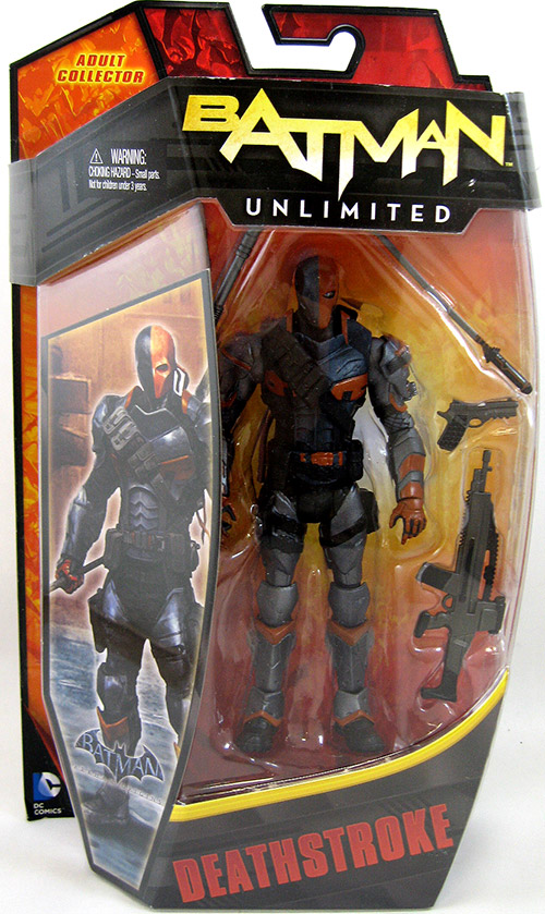 Deathstroke Batman Unlimited  Figure