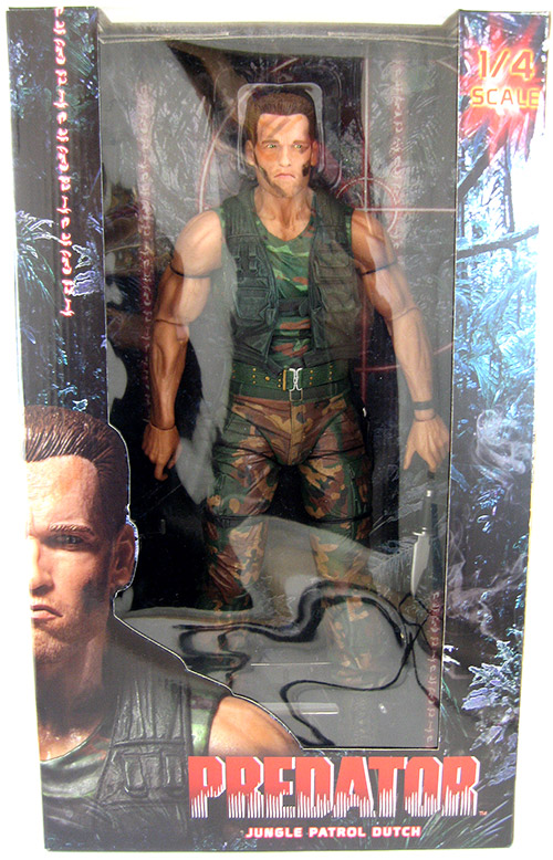 Dutch Predator 18 inch Figure NECA