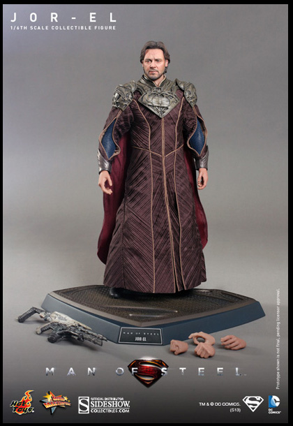Jor-el Superman Hot Toys Figure