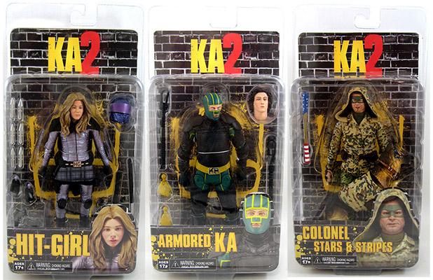 Neca-Kick AAS 2 COLONEL Hit-Girl /& Armored Ka-Action Figures KA Series 2