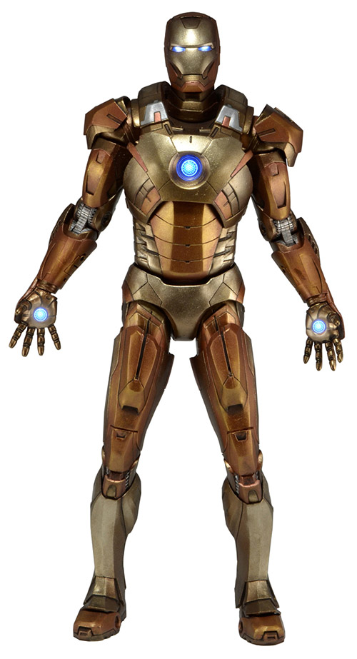 Midas Armor Iron Man Mark XXI 18 inch Figure NECA