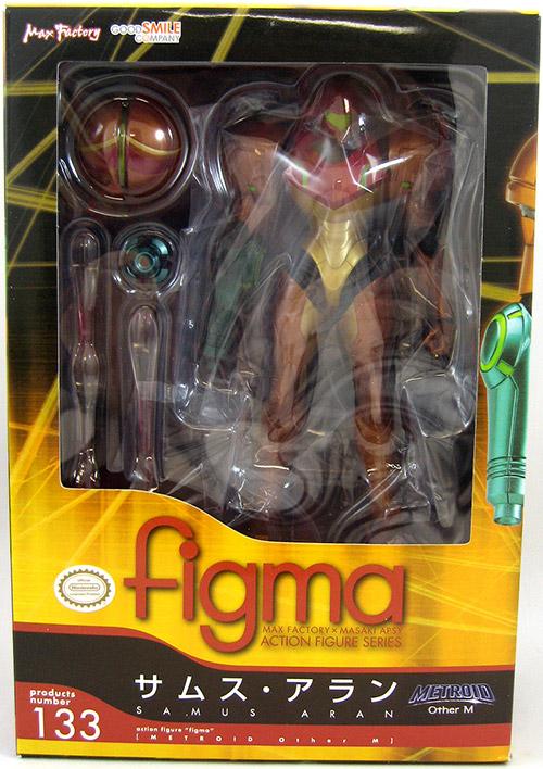 Samus Aran Metroid Figure
