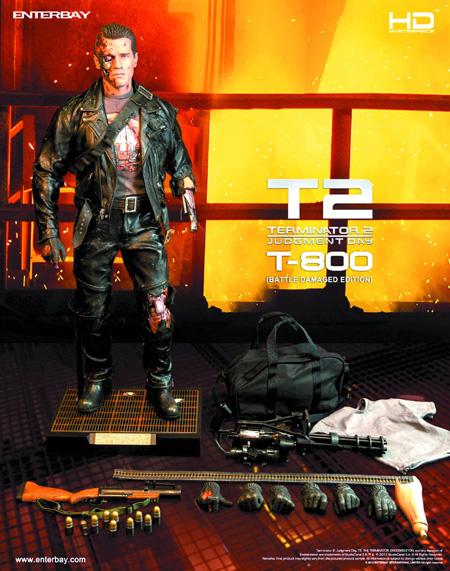 T-800 Terminator 2 Enterbay Figure