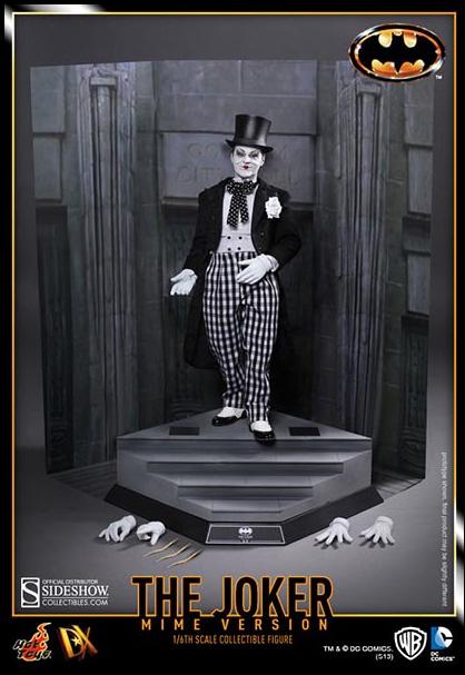 The Joker (Batman 1989 Mime Version) DX Hot Toys Figure