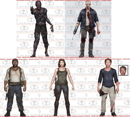 The Walking Dead 5 Inch Action Figure TV Series 5