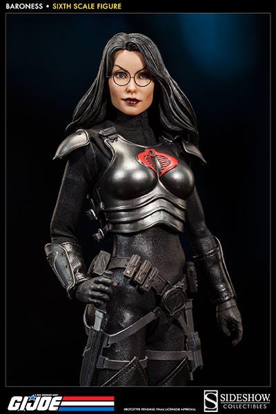 Baroness Sideshow GI Joe Figure