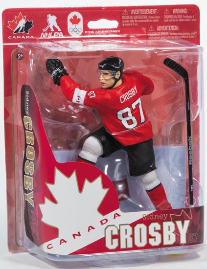Sidney Crosby Team Canada 2014 Figure