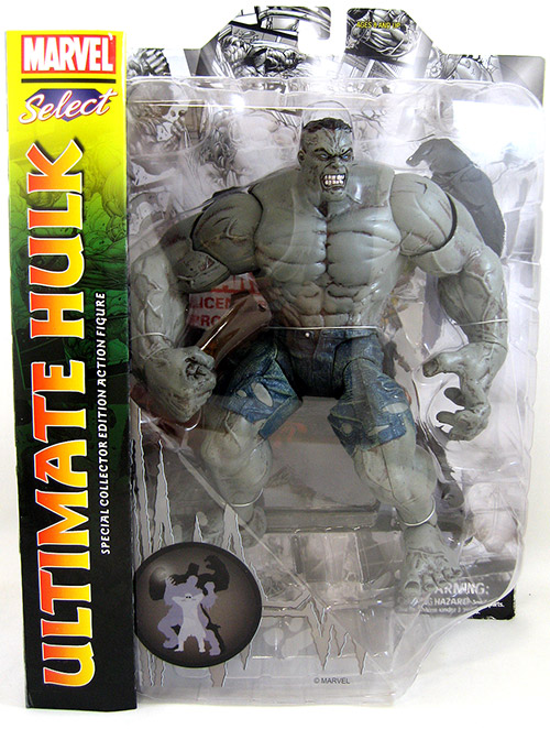 Ultimate Grey Hulk Marvel Select Figure