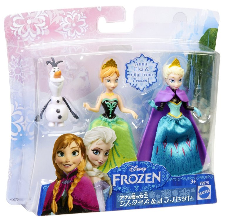Anna and Elsa Frozen Sisters Disney Giftset