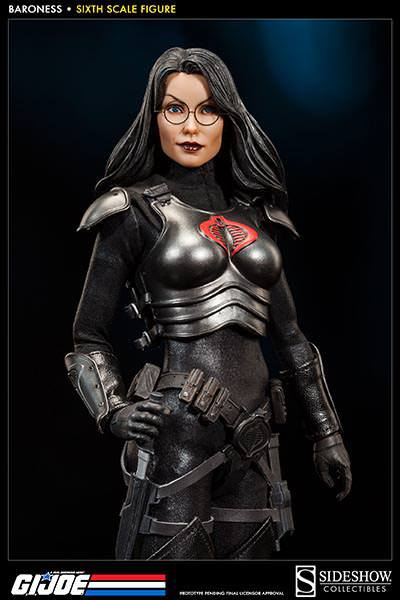 Baroness Figure Sideshow Collectibles