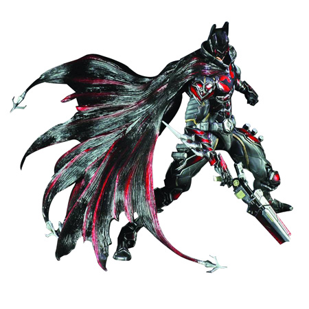 Batman Red Play Arts Kai Figure
