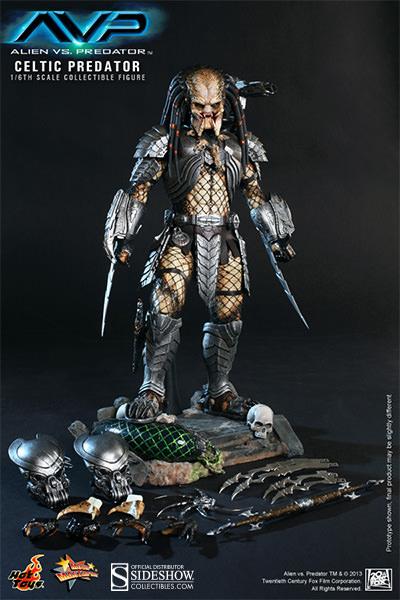 Celtic Predator Hot Toys Figure