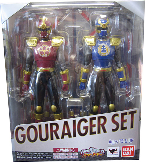 Crimson Thunder Ranger and Navy Thunder Ranger 2-pack Figure