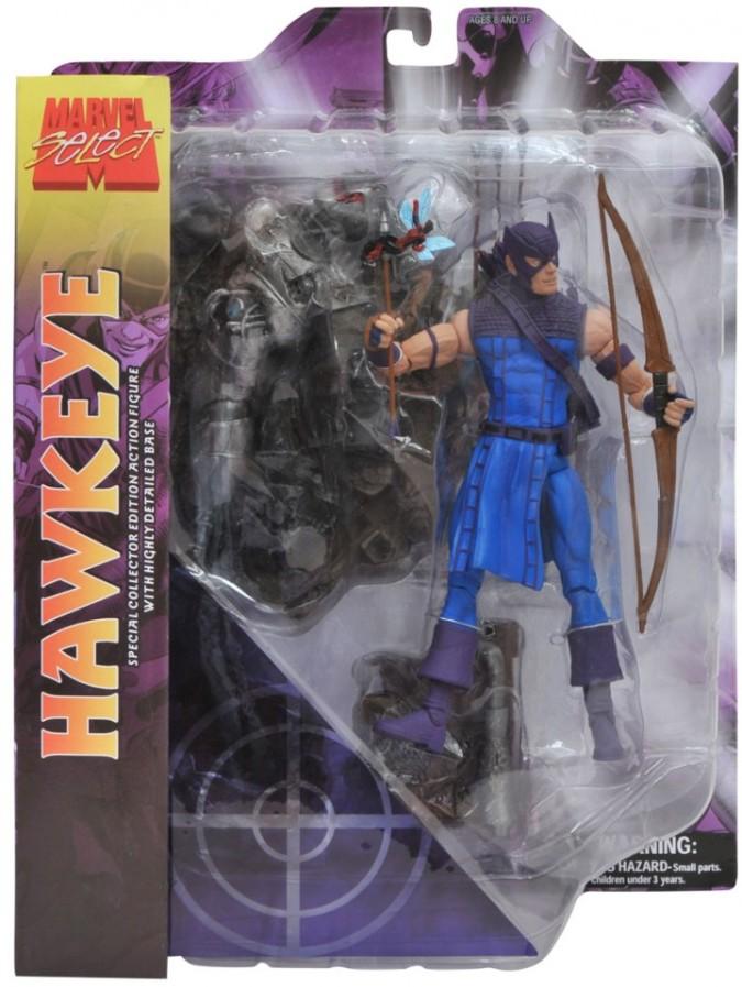 Hawkeye Marvel Select Figure