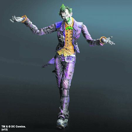 Joker Arkham City Play Arts Figure