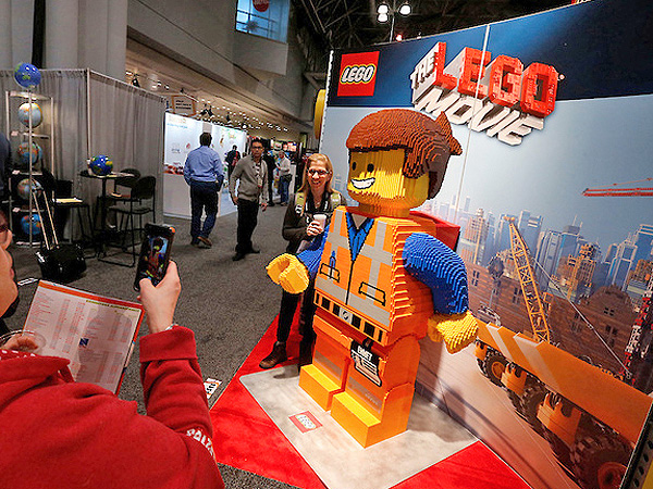 Lego at Toy Fair