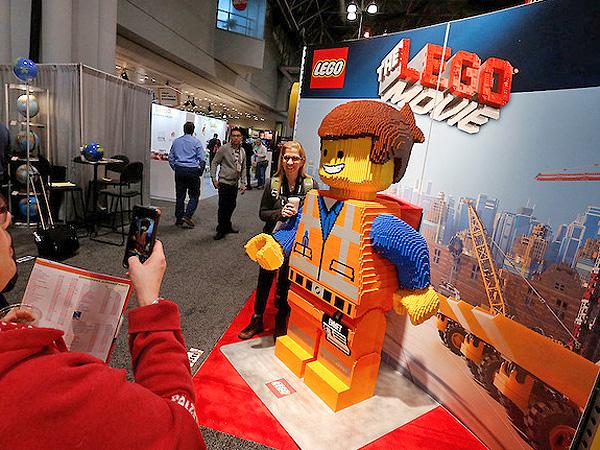 Lego at Toy Fair