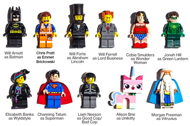 Lego characters from the new Lego Movie 2014 | CmdStore