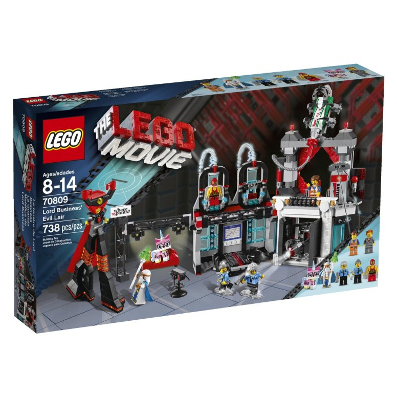 LEGO Movie 70809 Lord Business Evil Lair