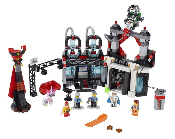 LEGO Movie Lord Business' Evil Lair 70809
