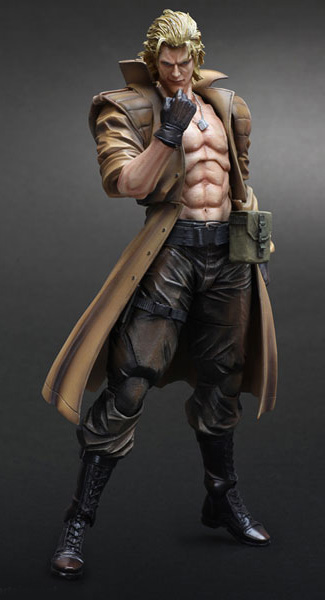 Liquid Snake Metal Gear Solid 2 Sons Of Liberty Figure