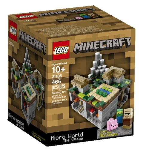 Minecraft Lego The Village 21105